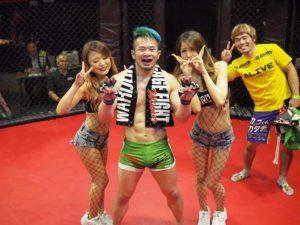 image-微笑みの爆弾(試合の結果はっぴょう) - 名古屋池下のフィットネスキックボクシングジム