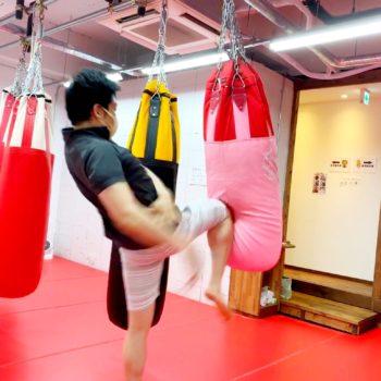 山下さま キックボクシングをやればやるほど健康に